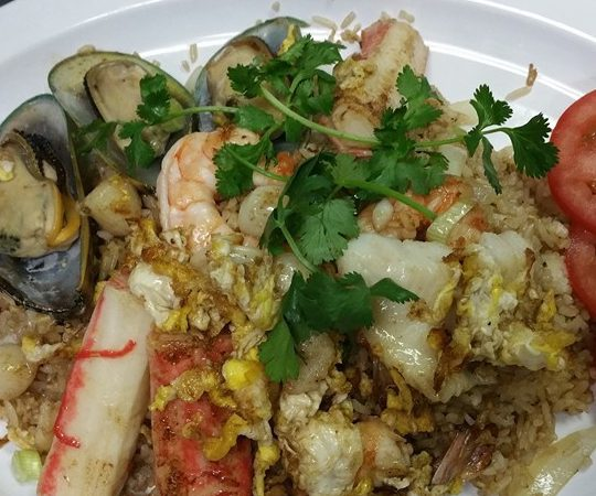 Seafood Fried Rice BoonSee Thai Kitchen